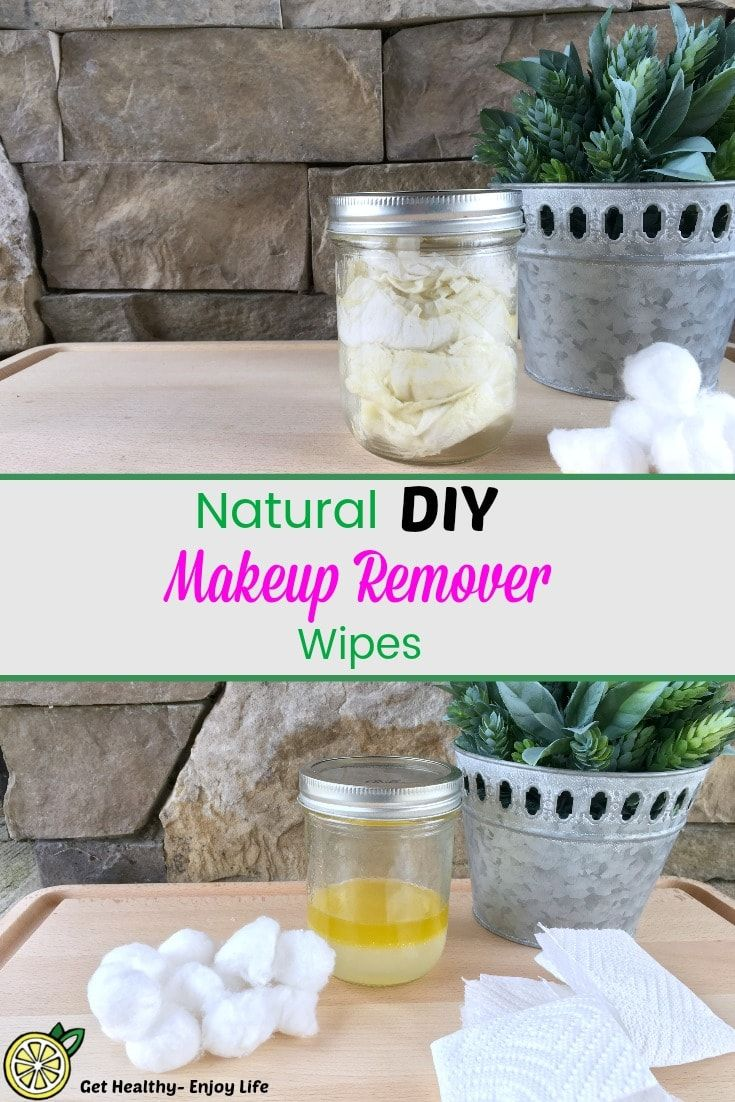 Make these Easy DIY Makeup Remover Wipes for Clear skin