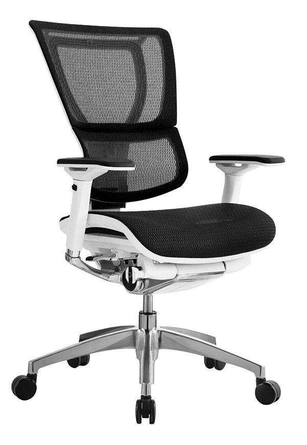 eurotech i00 wht is premium mesh chair with ratchet back height