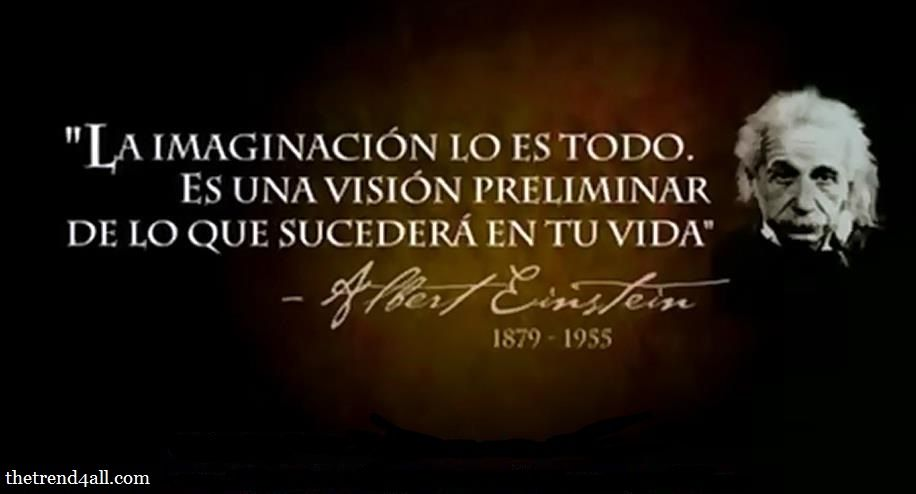 Einstein La Imaginación Tt4all Frases Einstein Imagenes Para Estados