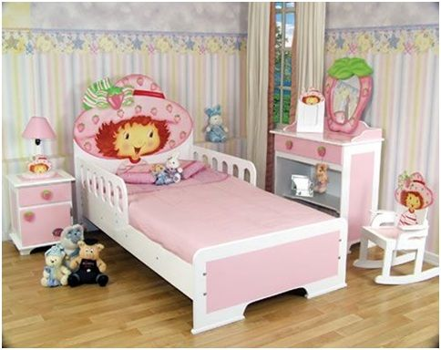 Strawberry Shortcake Bedrooms Decor Bedding Set Www