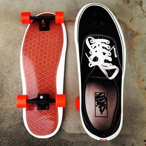 skate vans board
