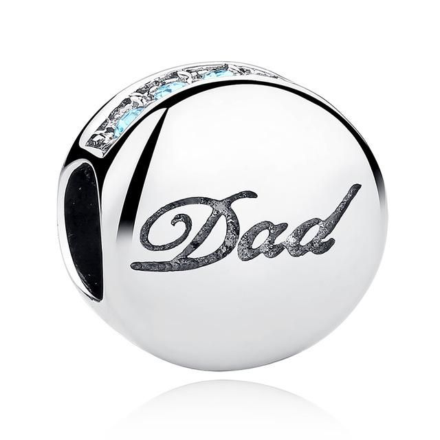 pandora dad daughter charm