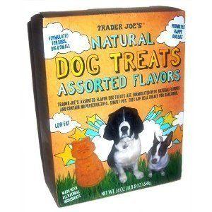 Trader Joes Natural Dog Treats Assorted Flavors 24 Oz Read More