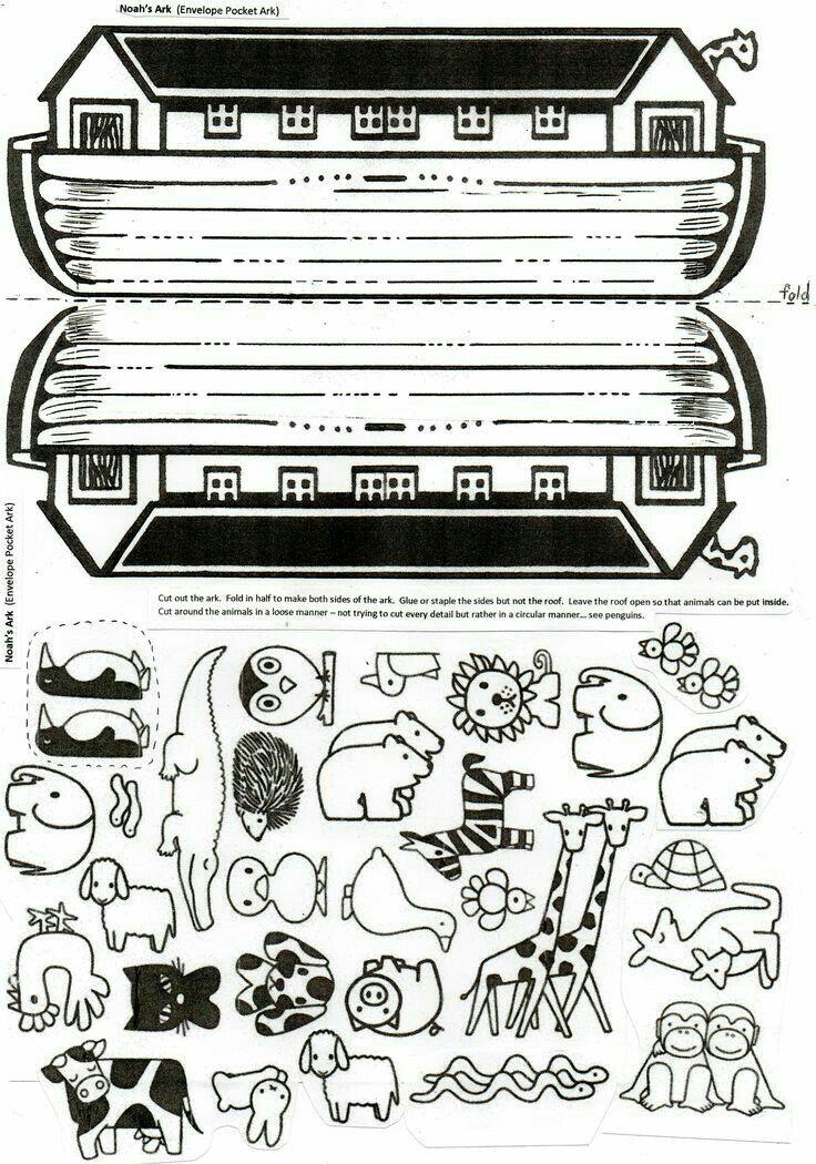 Cute Noah\'s ark craft! #animals | Apologia Elementary Science ...