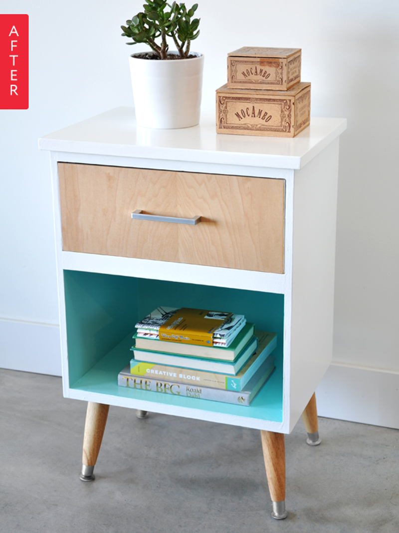 Before & After A Frumpy Craigslist Find Gets Fab