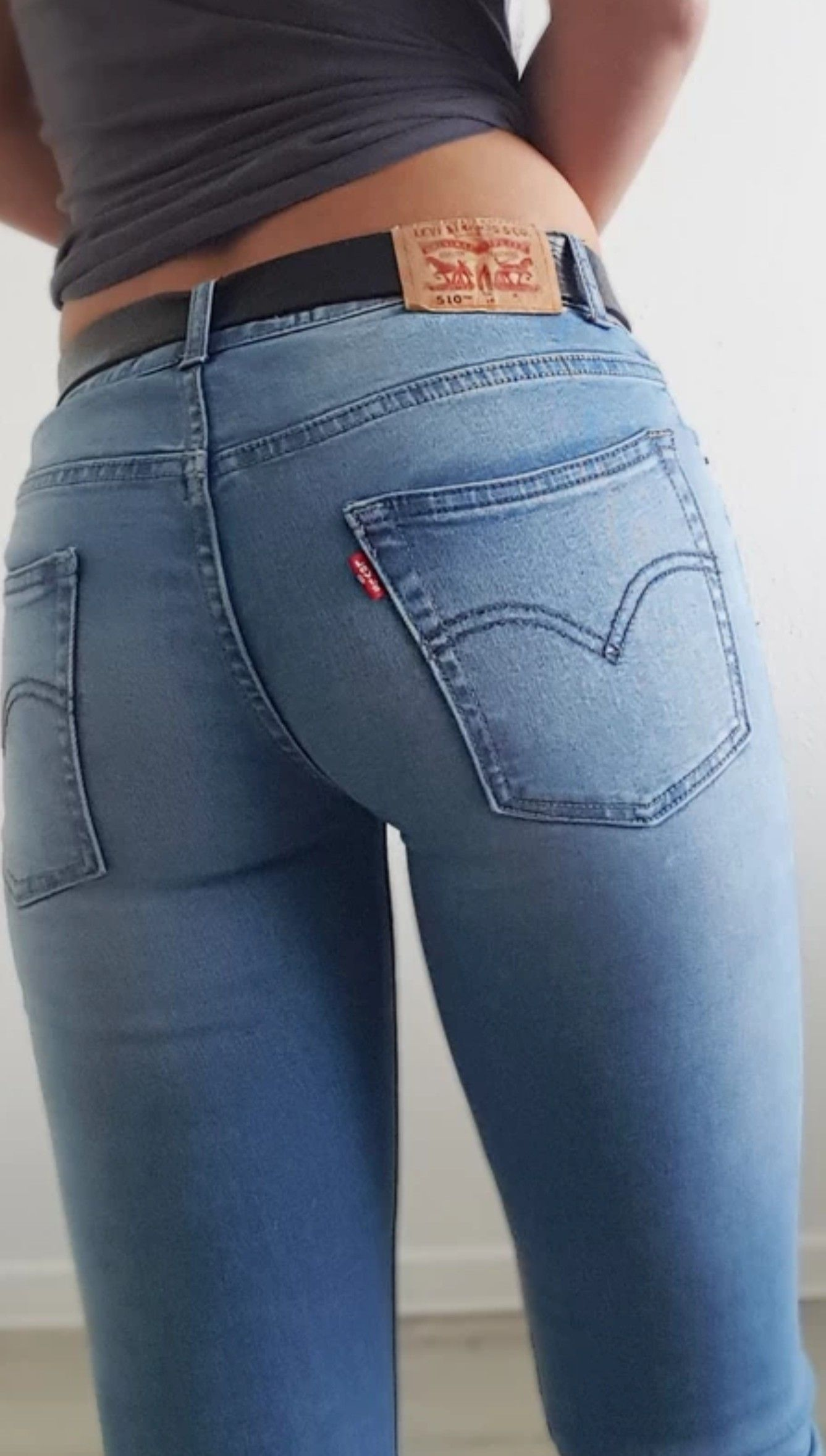 Jeansärsche Jeans. Gratis