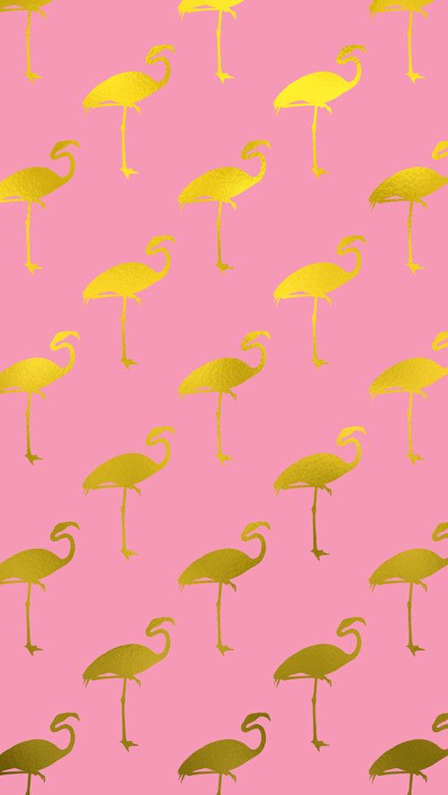 Download Flamingo Pattern Apple iPhone s HD Wallpapers