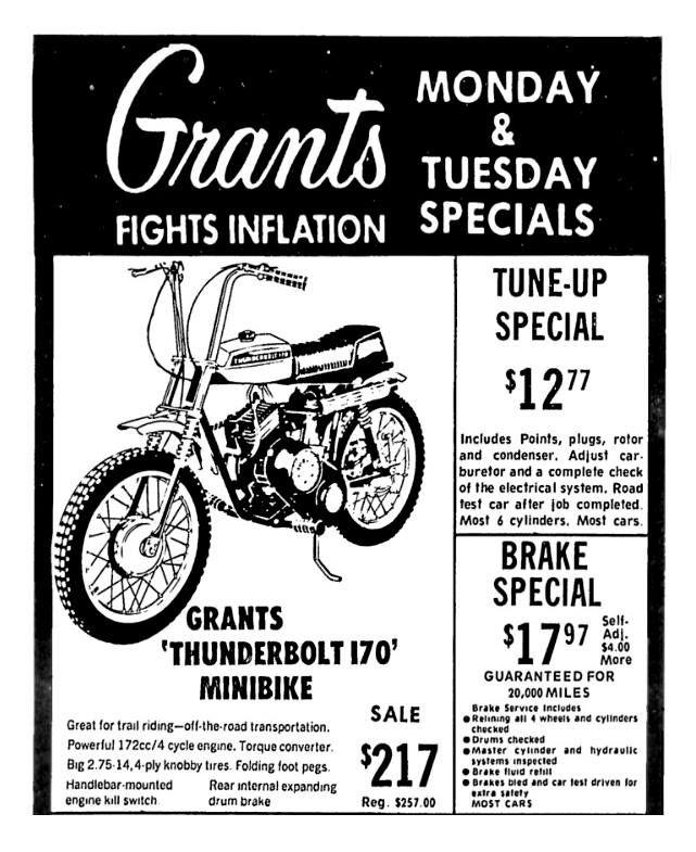 Wt Grants July 1972 Vintage Advertisements Old Ads Vintage Ads