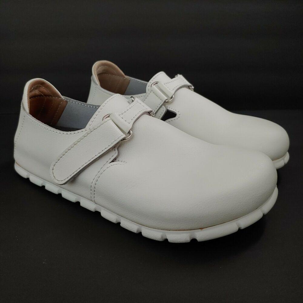 Birkenstock Alpro G500 White Leather