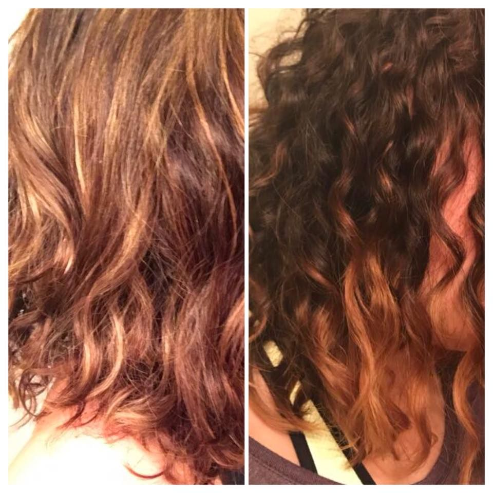 """Monat Testimonial Brittany's curly hair results... """"Got"""