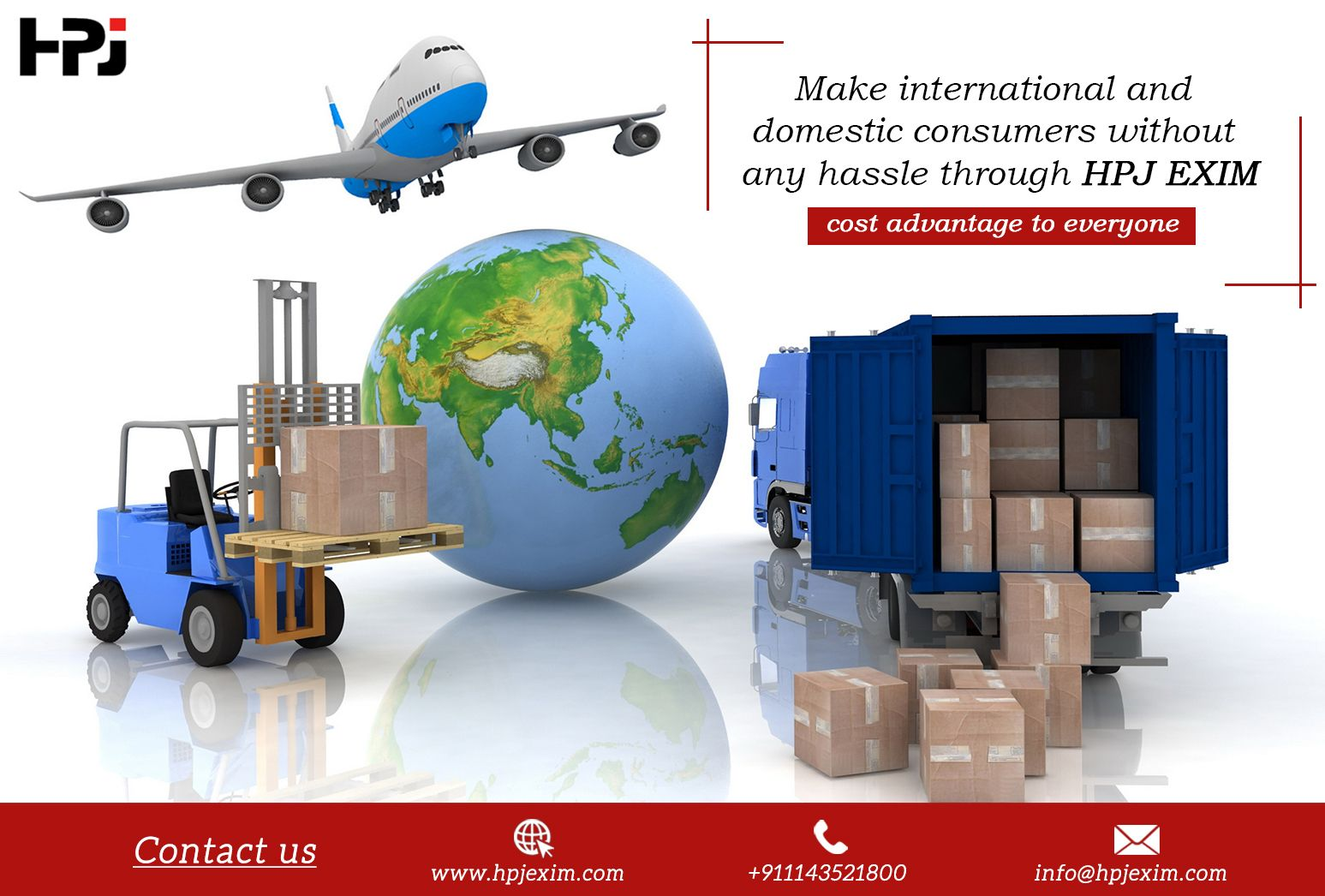 Make international and domestic consumers without any