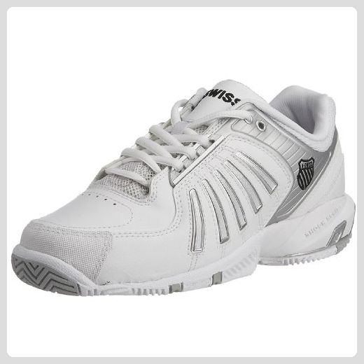 separation shoes e6173 a6131 K-Swiss , Damen Sneaker Weiß Weiß/Silber - Sneakers für ...