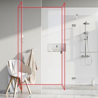lustrolite high gloss bathroom panels | waterproof wall