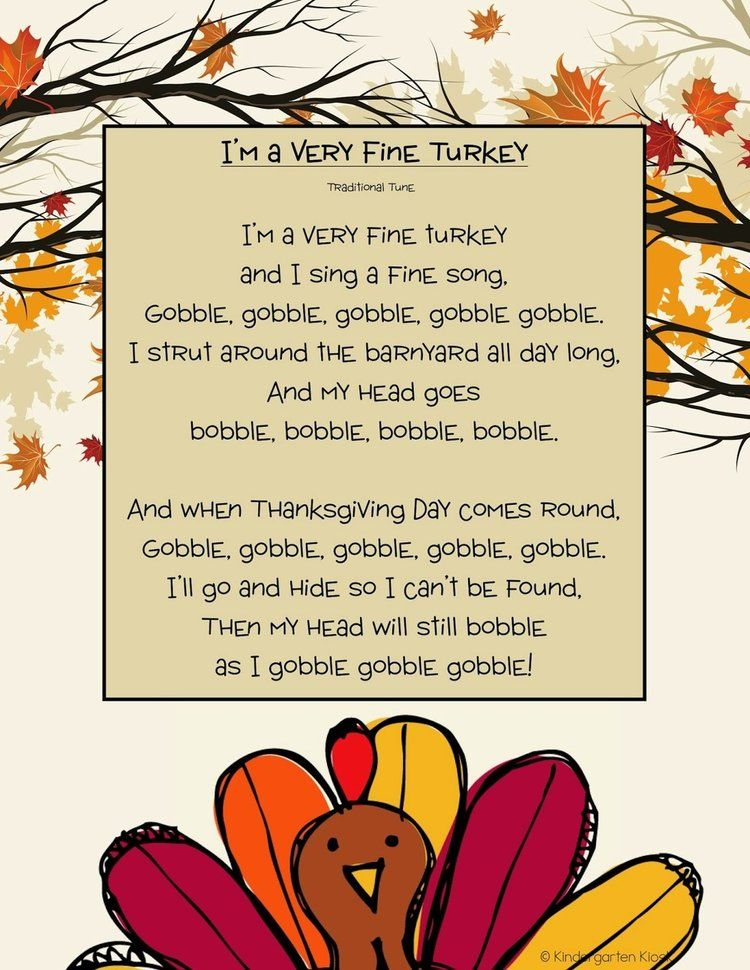 Building Thanksgiving Traditions With Young Children Fun Songs