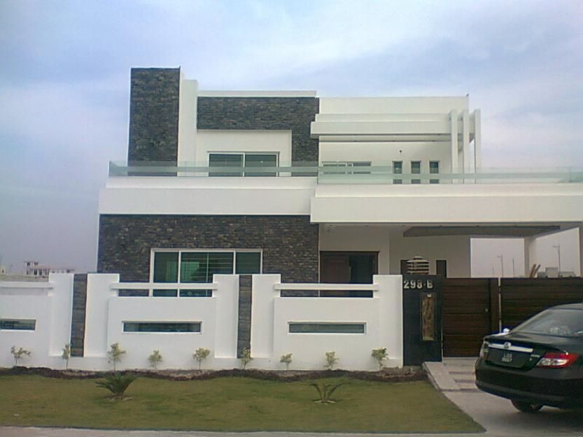 Marla  Marla  Kanal Luxurious House Pictures Saiban - 5 marla house design exterior