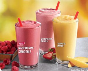 Real Fruit Smoothies Burger King For 1 Thefreebiesource