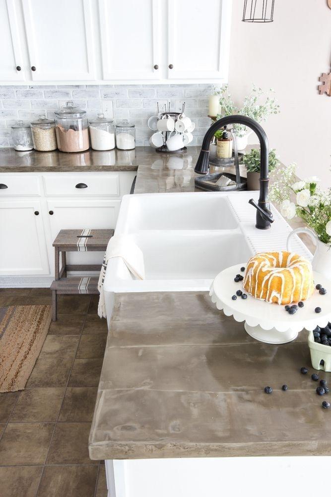 Kitchen Ideas Concrete Countertops