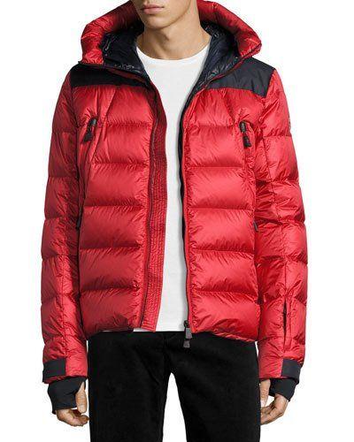 moncler red ski jacket