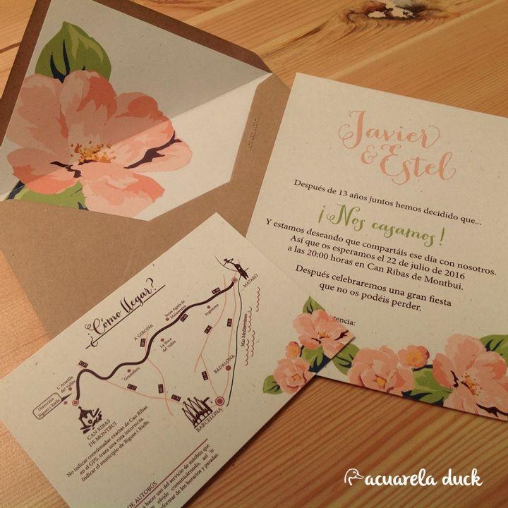 Pin by Lluvia Aburto on Decoración de boda Pinterest - invitaciones para boda originales