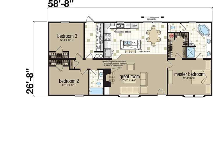 Home Office Floor Plans with Two Stories A Master Bedroom A Great