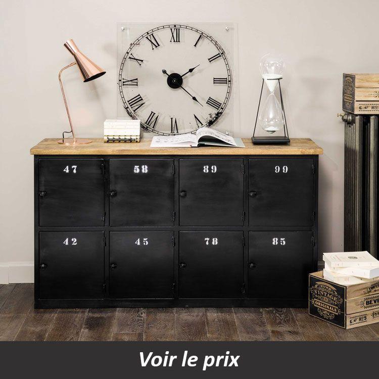 Buffet Industriel 10 Modeles Pour Un Salon Aux Airs De Loft Buffet Maison Buffet Industriel Maison Du Monde