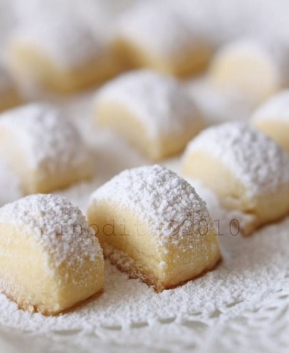 Short Bread Cookies ~ Melting Moments