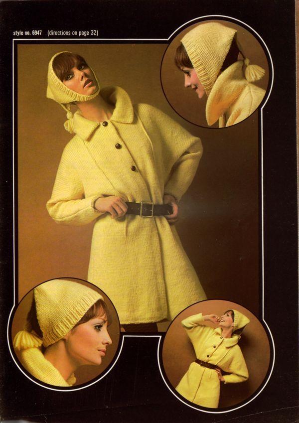Brunswick Coat Designs 1969 omg i love this <3