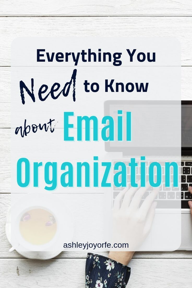 Email Organization 101 Organize Your Email in 7 Steps