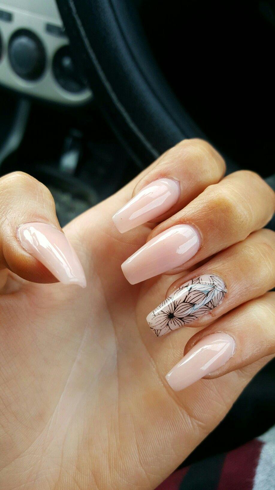 New Nails Ring Finger Nails Rhinestone Nails Nail Designs
