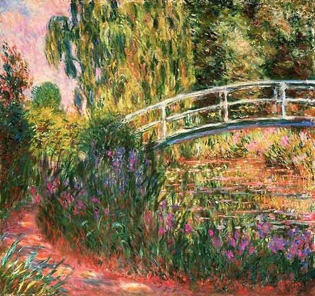 Pandora Le Jardin Japonais Monet Pont Japonais Monet Peinture