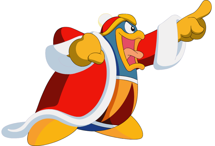 King Dedede From The Kirby Series Kirby Disney Characters Character