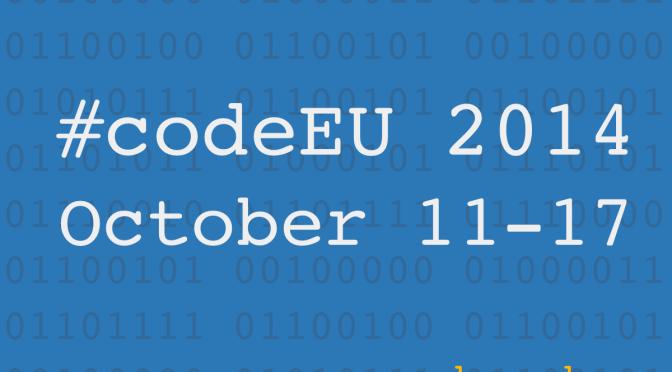 Europe Code Week 2014