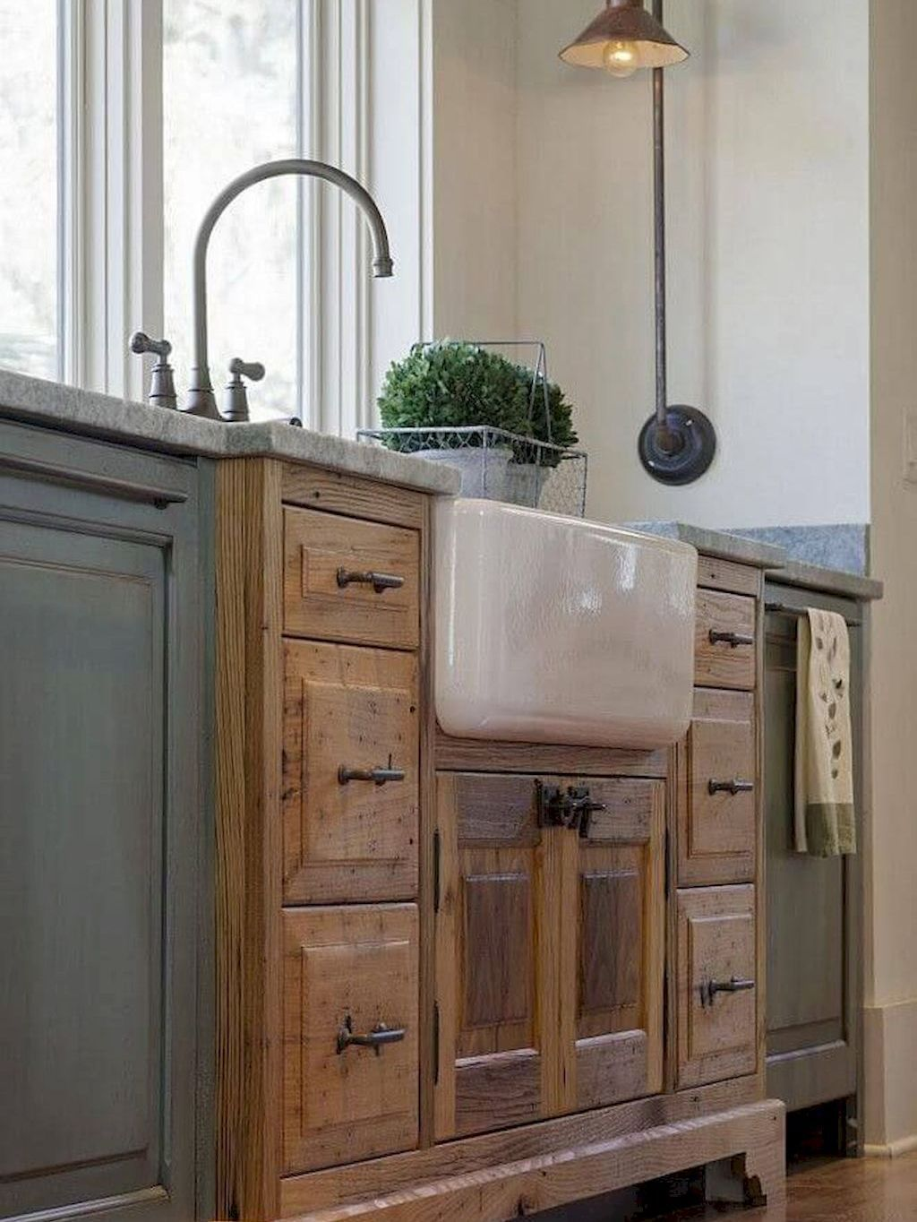 BEAUTIFUL 100+ RUSTIC KITCHEN CABINET IDEAS is part of cabinet Makeover Rustic - You're standing in your cozy rustic kitchen admiring the nice and cozy glow that solely aged wooden cupboards and a pure fire can emit, and the scent of pine timber surrounds your senses  You drop into your favourite plaidcovered chair, resting your stocking ft near the open flame of the woodburning range — simply shut     Read moreBEAUTIFUL 100+ RUSTIC KITCHEN CABINET IDEAS