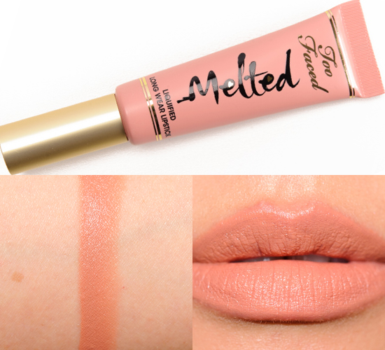 Too Faced Melted Liquid Lipstick in Melted Nude | $25
