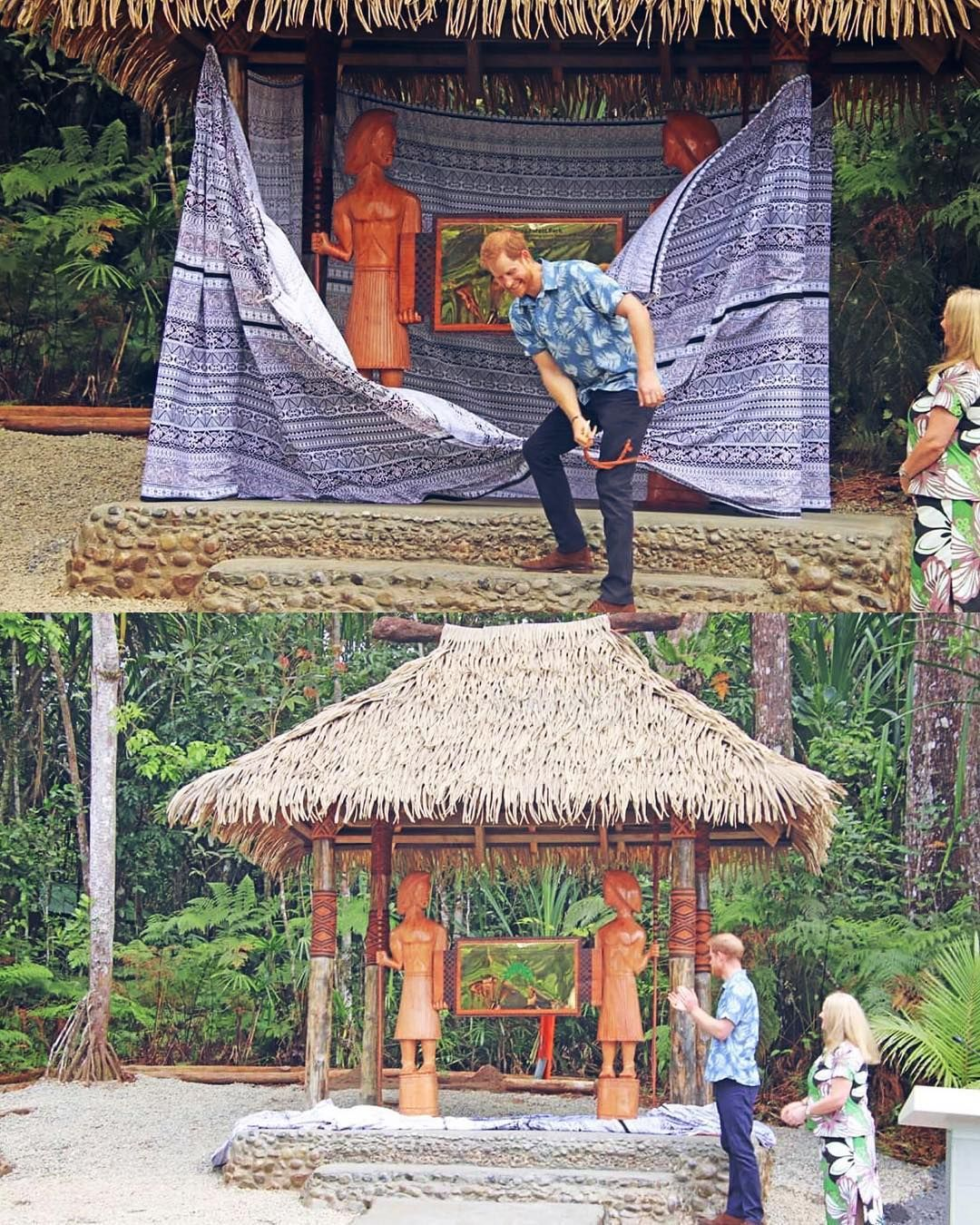 Update Second Engagement The Duke Traveled To Colo I Suva Forest Park Colo I Suva Is An Indigenous Forest Site Hous Forest Park Suva Prince Harry And Meghan