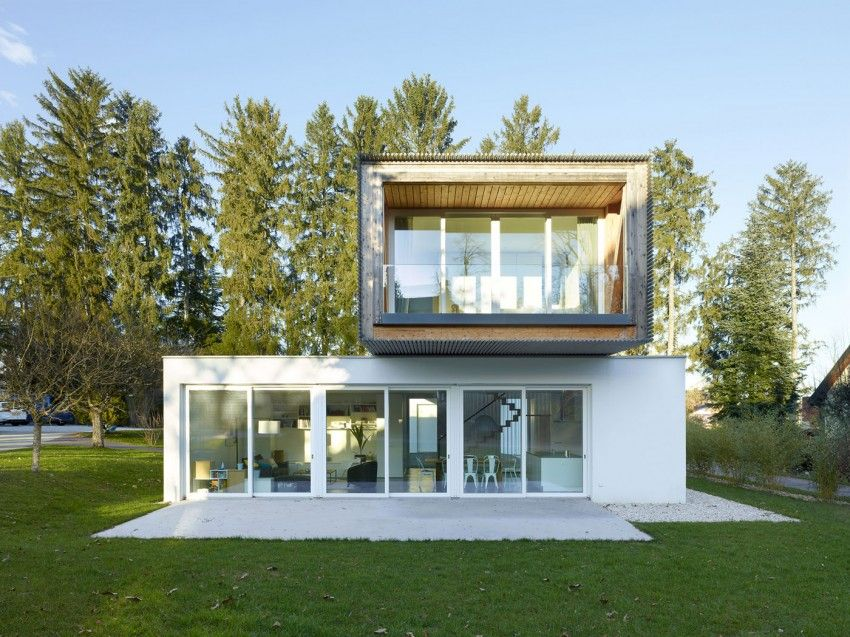 Complex Living Program Concentrated On Narrow Lot: Single Family House In  Switzerland   Http: