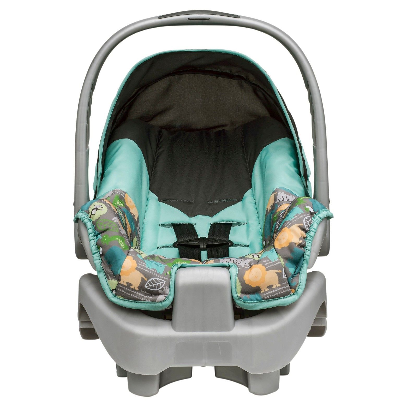 The Evenflo® Nurture™ Infant Car Seat provides comfort for