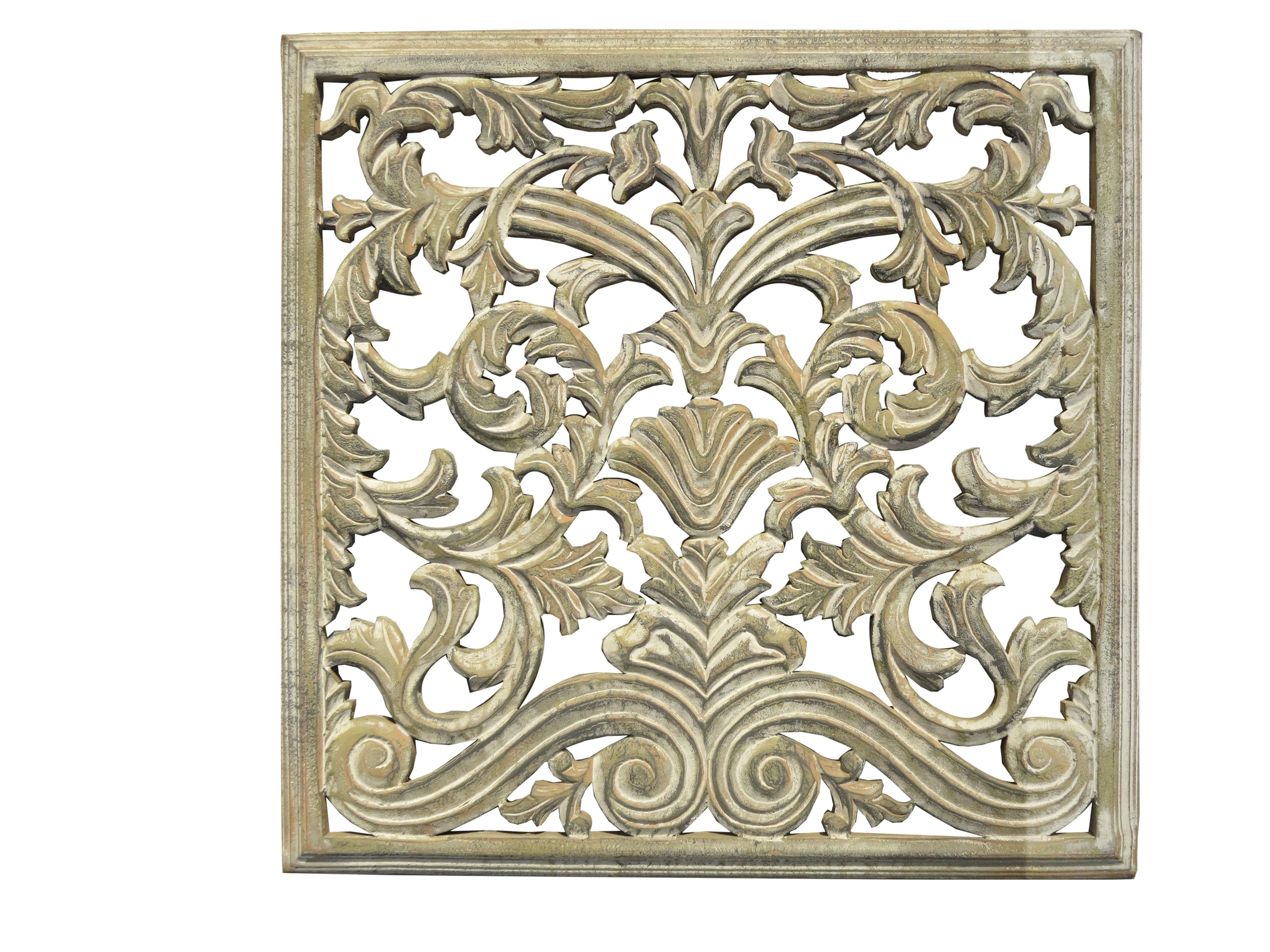 Mdf Carved Panel Design In Light Brown Antique Finish Hand Carved Wood Panels In Intricate And Elaborate Patte Hand Carved Wood Class Decoration Wood Paneling
