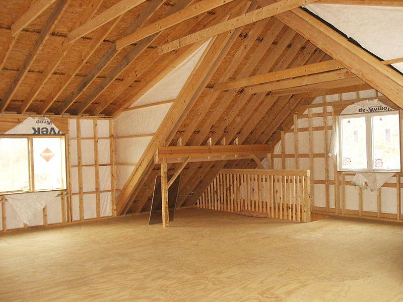 Shed Dormer Construction maison, Maison