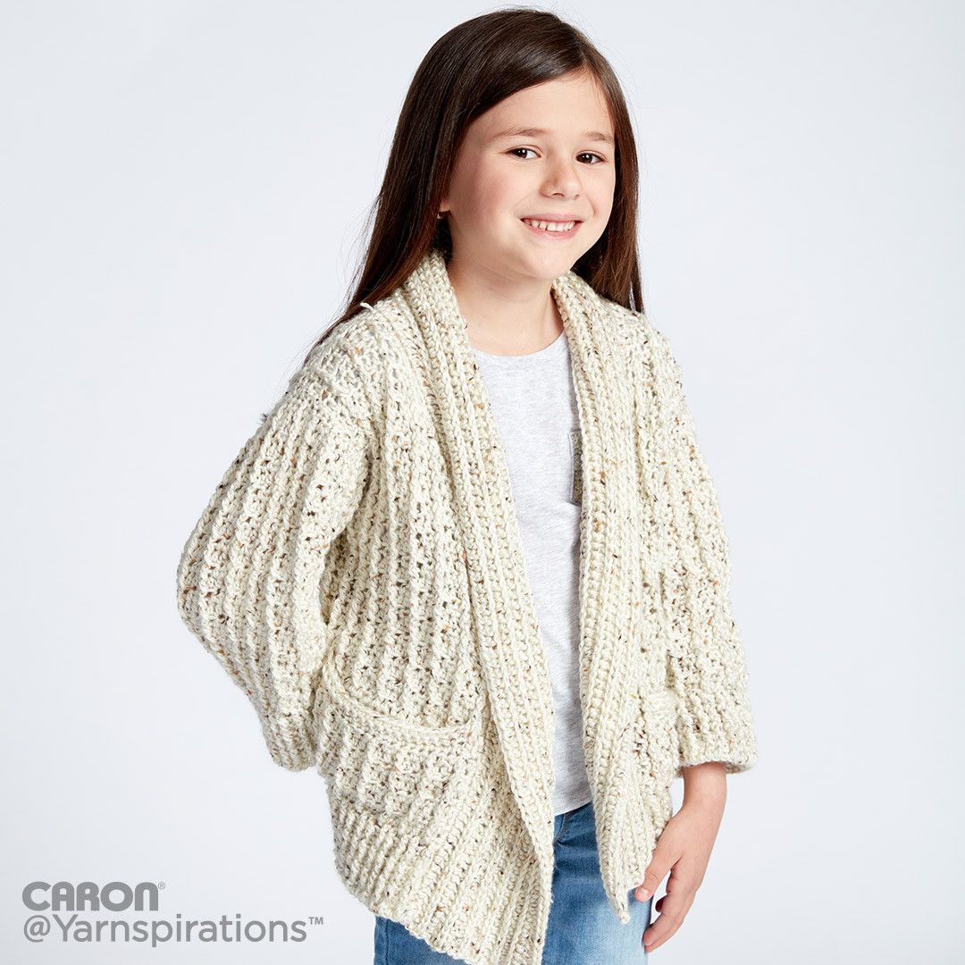 Crochet Chill Time Child\'s Cardigan | Knit and crochet | Pinterest ...