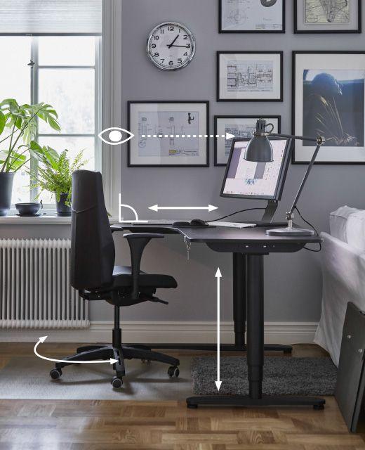 delightful einfache dekoration und mobel arbeitsplatz ergonomie tipps und ideen #1: Ergonomischer Arbeitsplatz - Tipps u0026 Ideen - IKEA.AT