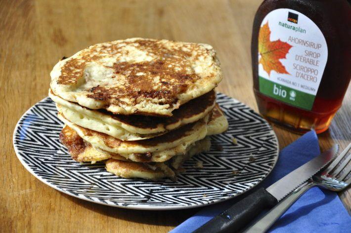 Pancakes à la cannelle pour un petit-déjeuner gourmand et rassasiant ! - Réglisse & Myrtilles
