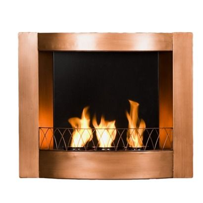 if I could figure out how and where to install a faux fireplace/heater in my guest bath... I would be so proud of me (: