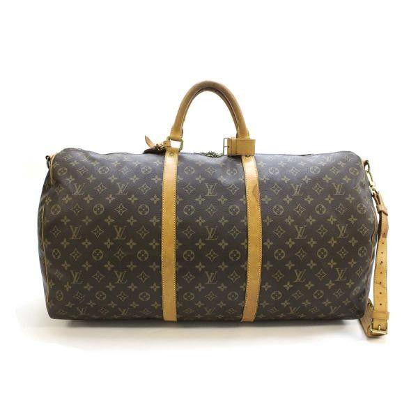 b264ec92dcfe Louis Vuitton Keepall Bandouliere 60 Monogram Shoulder bags Brown Canvas  M41412
