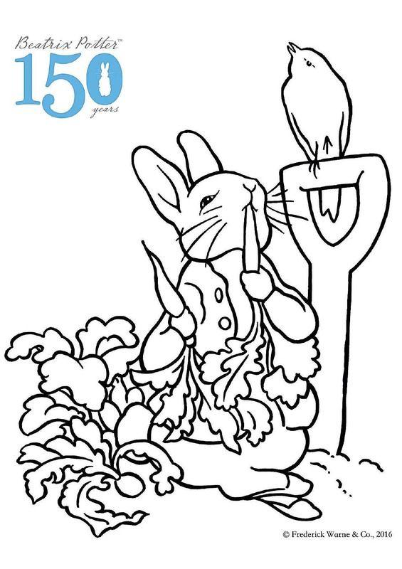 Beatrix Potter Coloring Sheets Coloring Pages