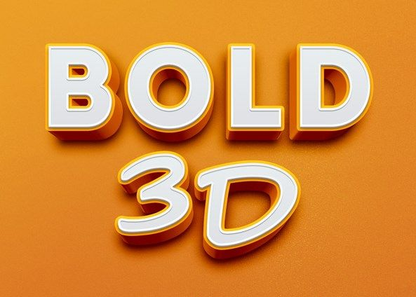 Cinematic 3d text effect | graphicburger.