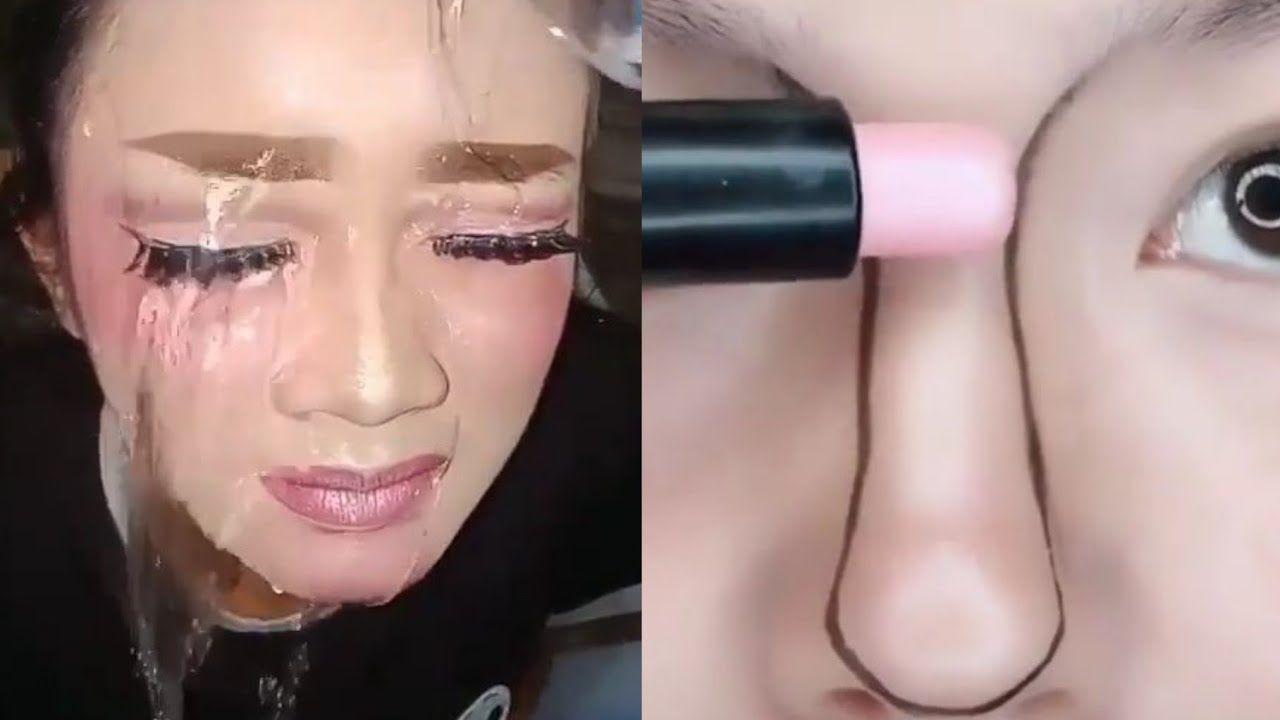 حيل و أفكار تجميلية كورية مجنونة ستسهل حياتك ولن تستغني عنها بعد اليوم Halloween Face Makeup Face Makeup Makeup