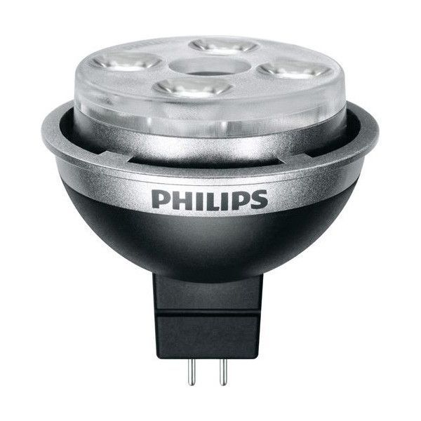 PHILIPS AirFlux 8.5W MR16 LED Dimmable Soft White FL35 Light Bulb - 75w equiv.