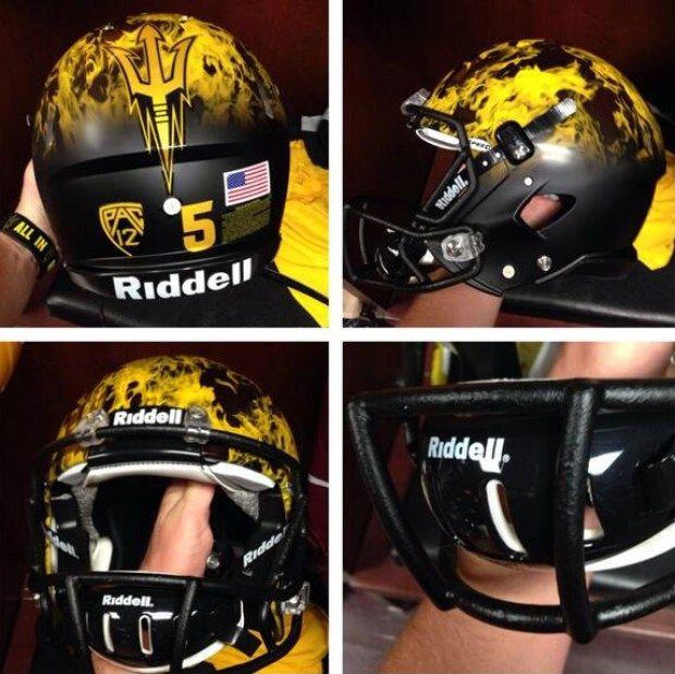 efa9e591c Arizona State Sun Devils football uniforms
