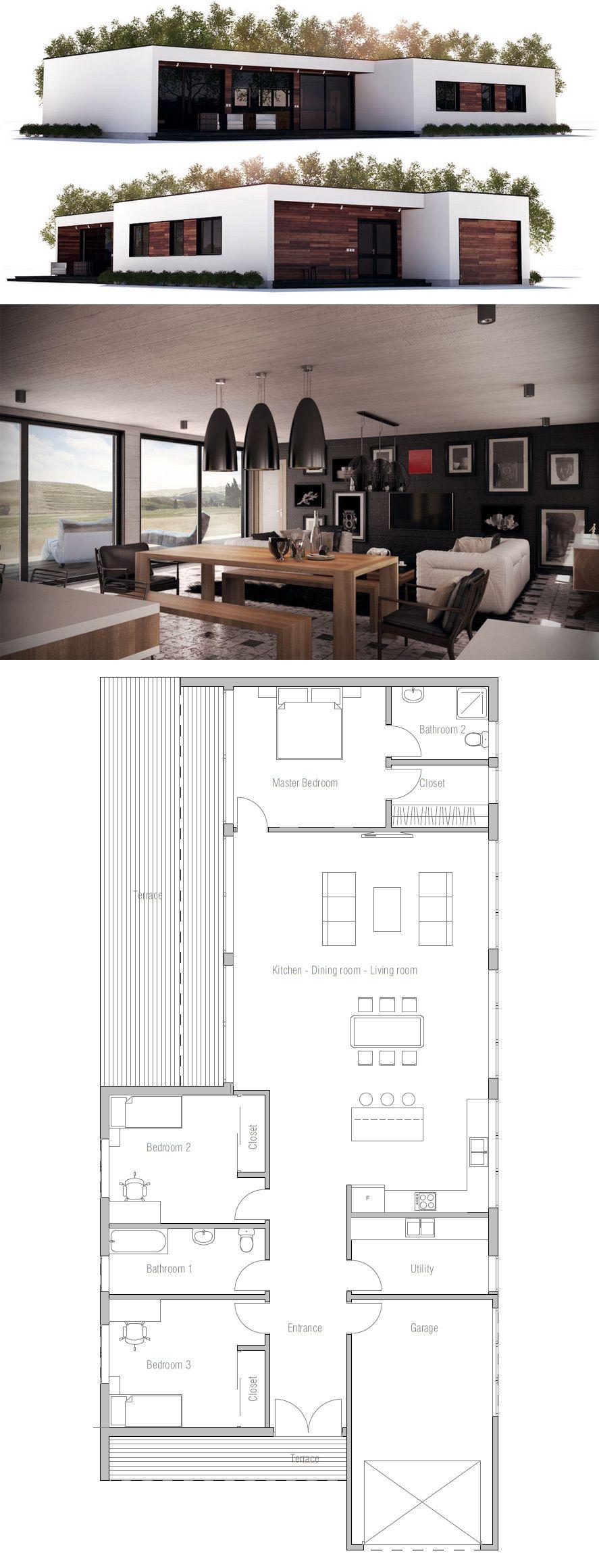 Modern house plan also hise in pinterest plans rh